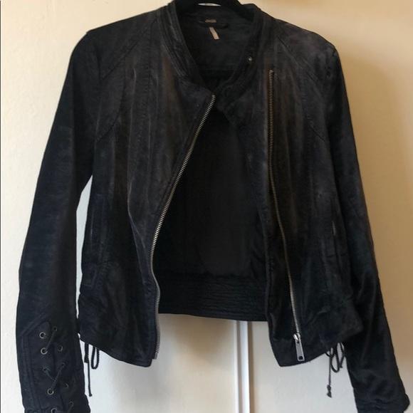 Free People Jackets & Blazers - Velour black jacket from Free People